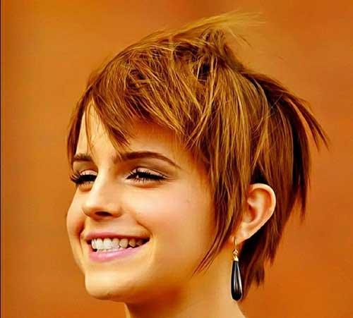 Emma Watson Long Pixie Hairstyles