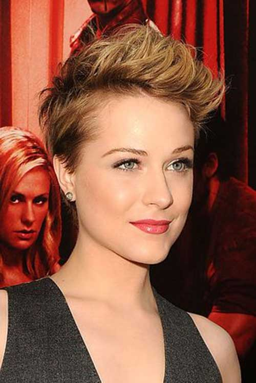 Evan Rachel Wood Pixie Cut Styles