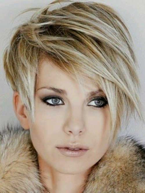 Layered Edgy Pixie Haircut
