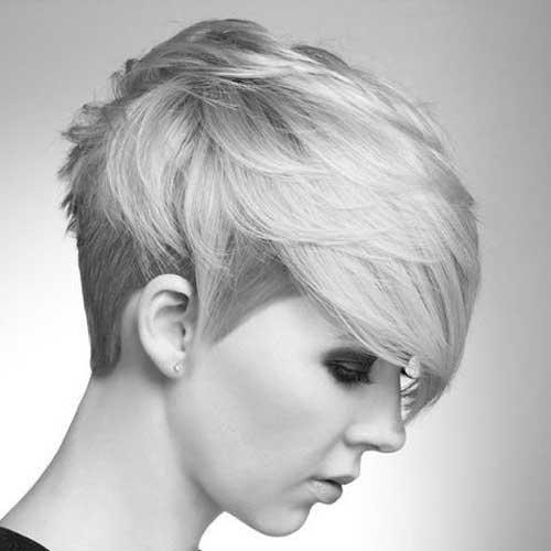 Long Asymmetrical Pixie Hairstyles