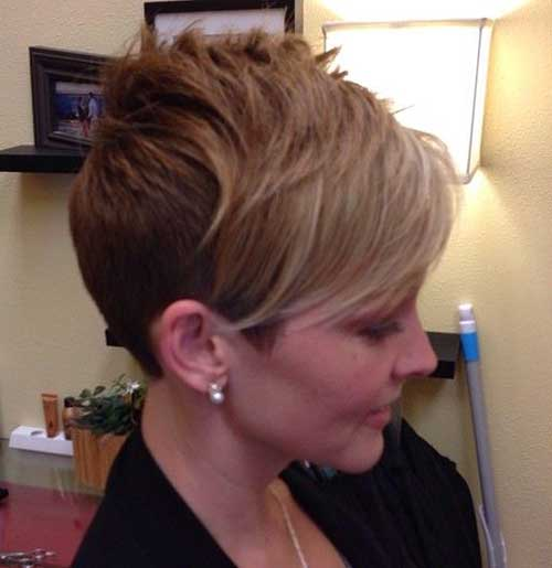 Long Pixie Cut Hair Styles
