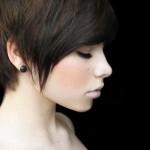 Long Dark Pixie Hairstyles