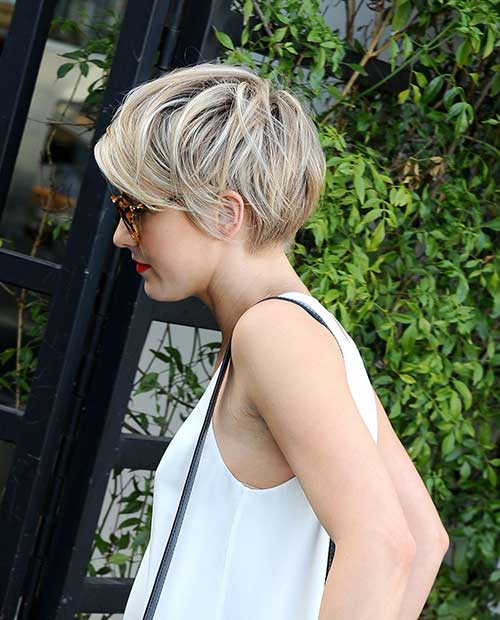 Long Pixie Hairstyles Side View