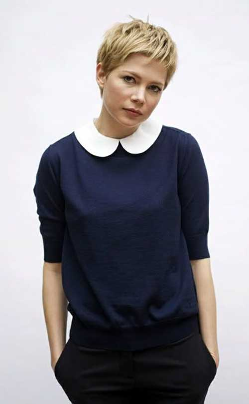 Michelle Williams Pixie Cut Styles