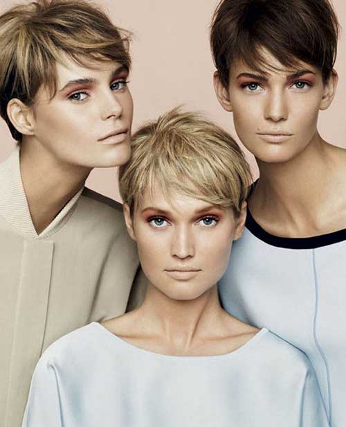 New Pixie Short Haircuts 2015