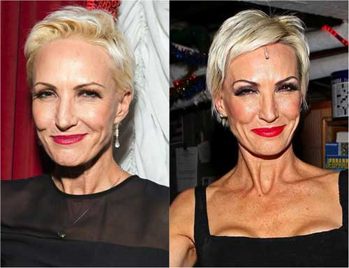 Nice Pixie Haircuts for Women Over 50