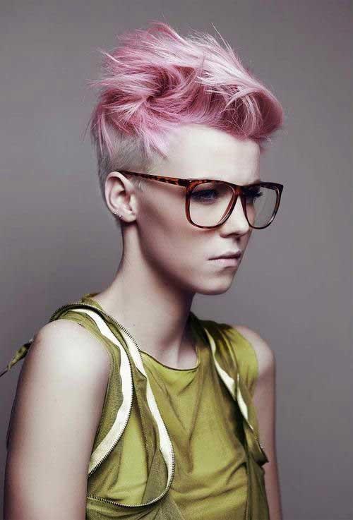 Pixie Cut Pastel Pink