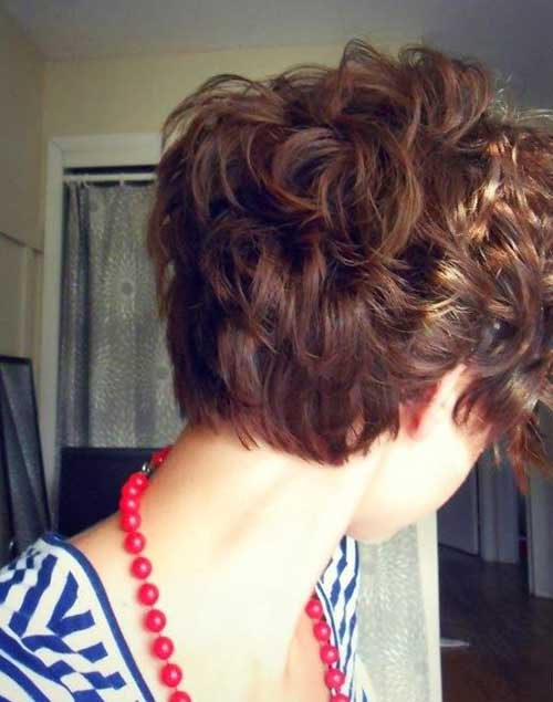 Pixie Cut Styles Back View
