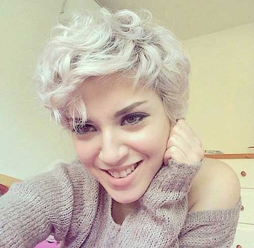 Blonde Pixie Cut Styles