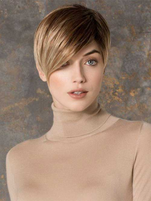 Super Pixie Cut for Oval Face