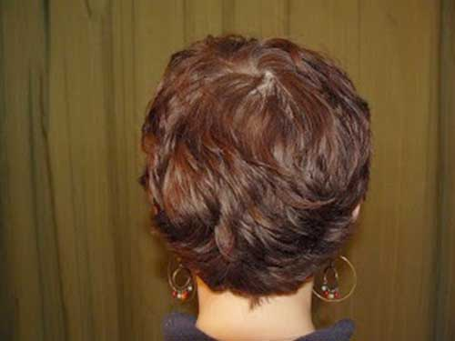 Pixie Hair Cuts Back View