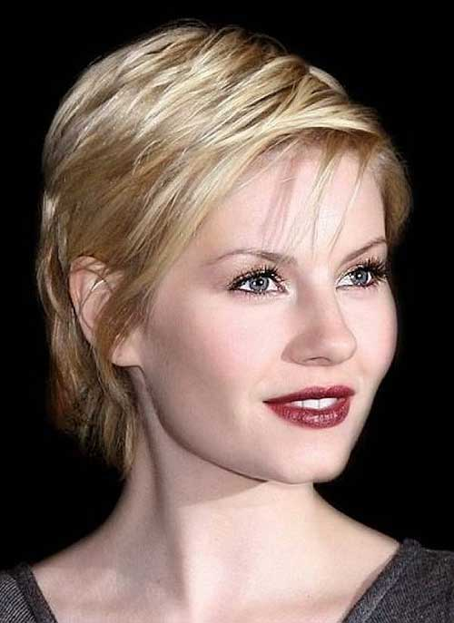 Pixie Haircut for Thin Blonde Hair