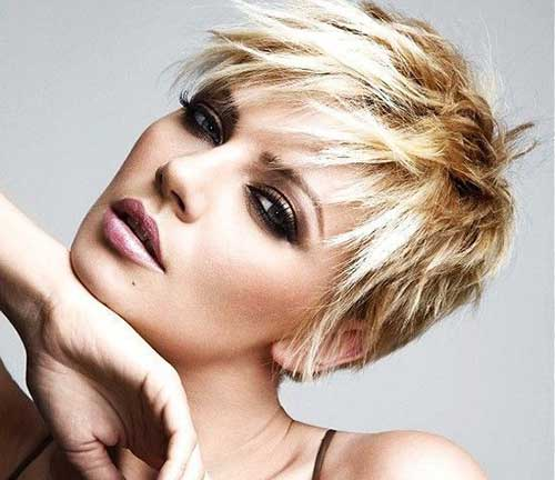 Pixie Haircuts Thick Blonde Hair Cuts