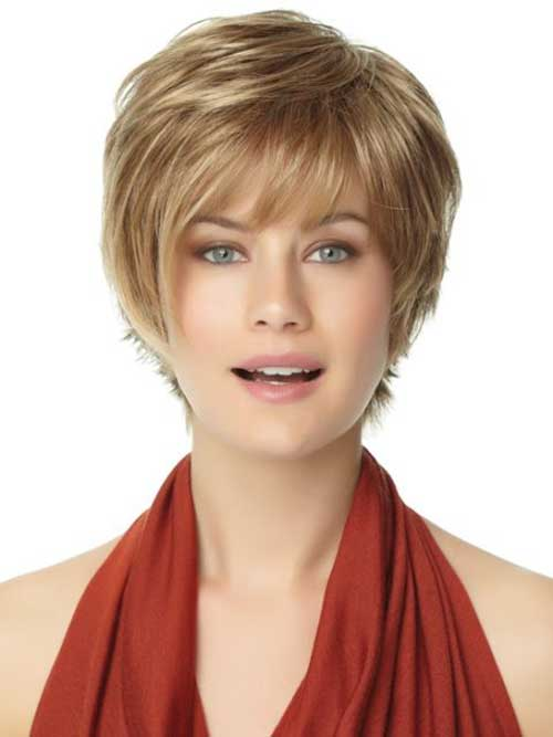 Layered Pixie Hairstyles for Round Faces