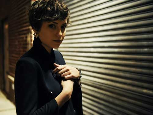Punky Curly Pixie Cuts