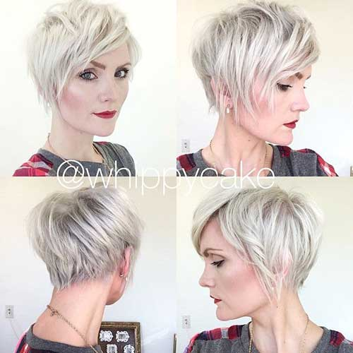 Shaggy Layered Pixie Haircut