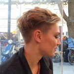 Nice Shaved Pixie Cuts