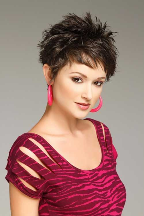 Short Hair Spiky Pixie Haircuts
