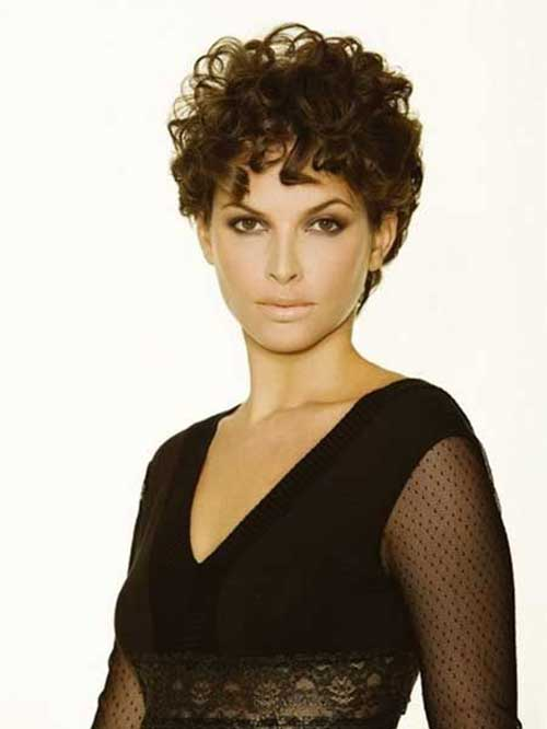 Short Pixie Haircut Curly Hairstyles