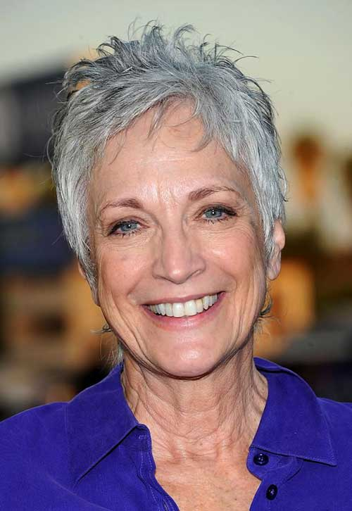 Spiky Pixie Haircuts for Older Ladies