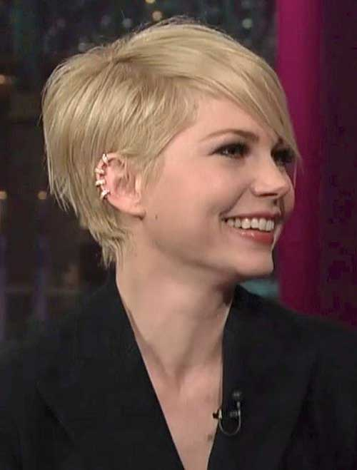 Straight Long Pixie Hair 2015