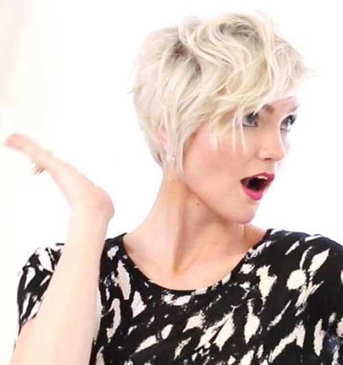 Stylish Blonde Pixie Hairstyles