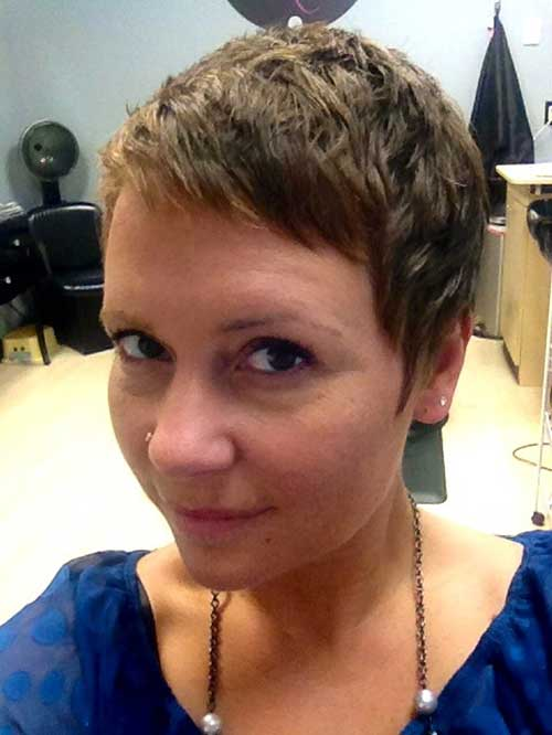 Super Short Pixie Hair 2015