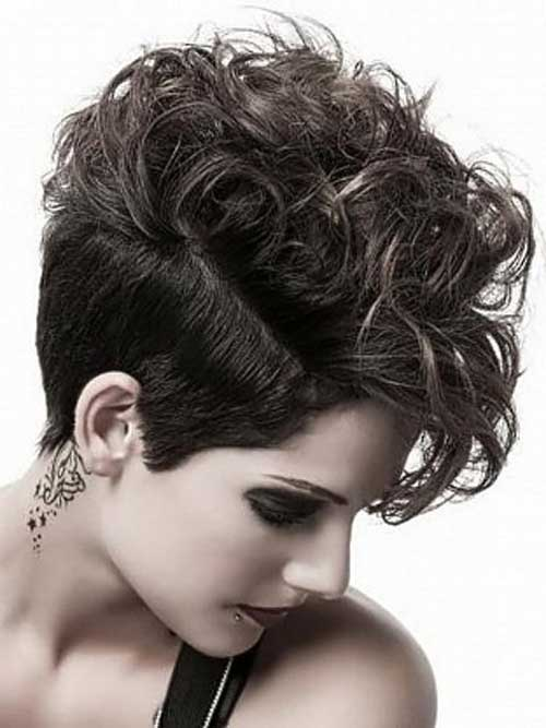 Trendy Curly Pixie Cuts