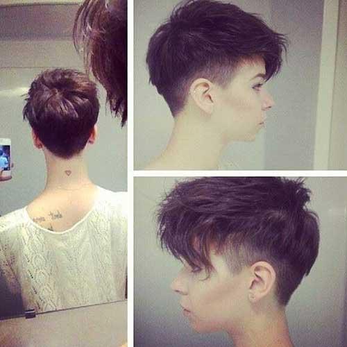 Undercut Pixie Hair 2015