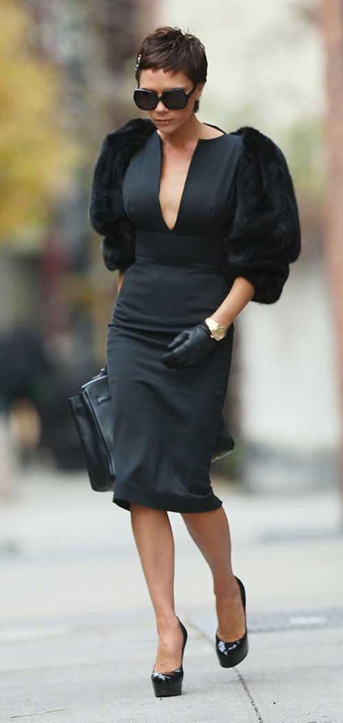 Victoria Beckham Chic Pixie Cut