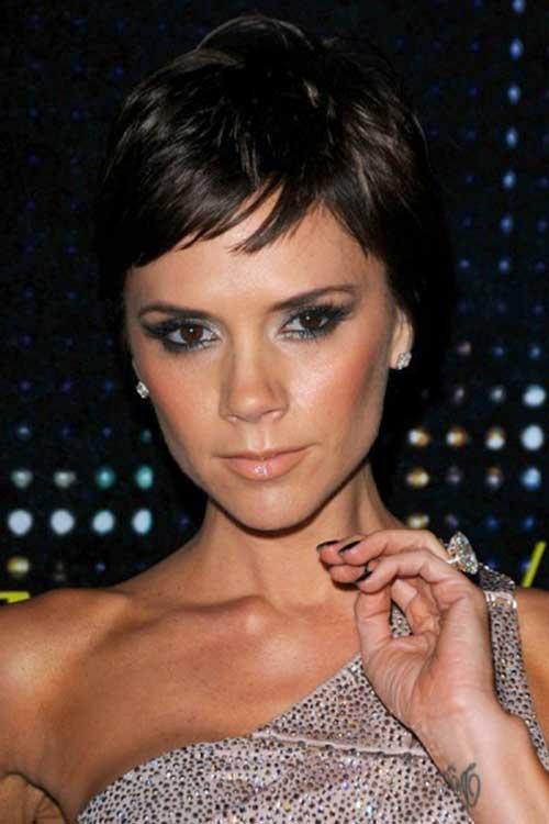 Victoria Beckham Fine Pixie Cut