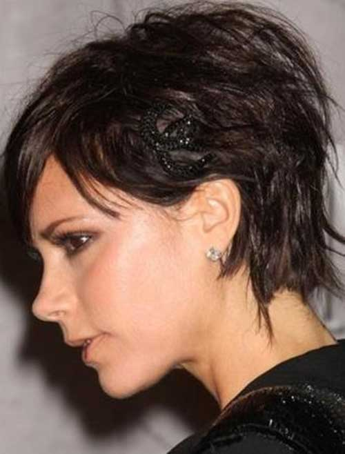 Victoria Beckham Layered Pixie Cut