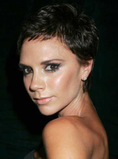 Victoria Beckham Pixie Cut Hairstyles