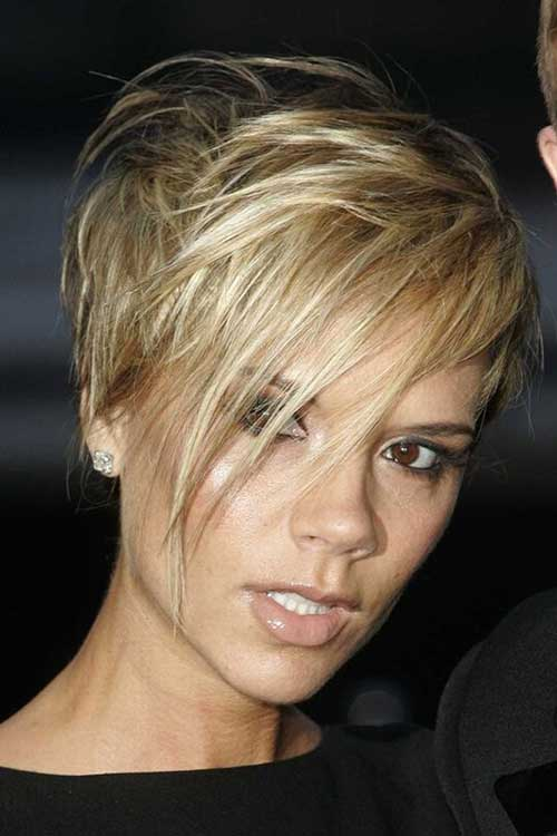 Super Victoria Beckham Pixie Hair
