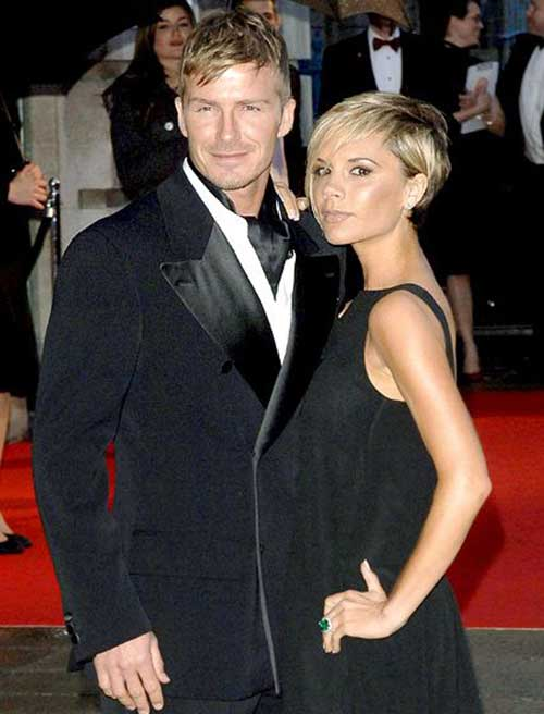 Victoria Beckham Straight Pixie Cut