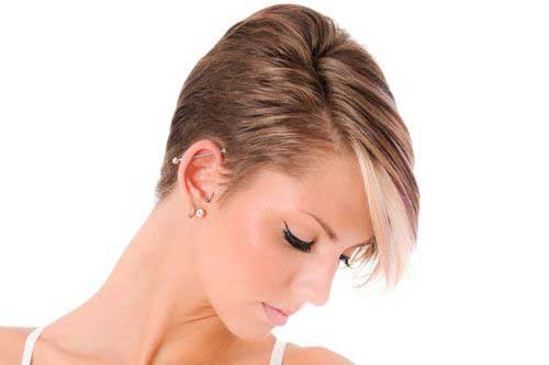 Asymmetrical Long Pixie Hairstyles 2015