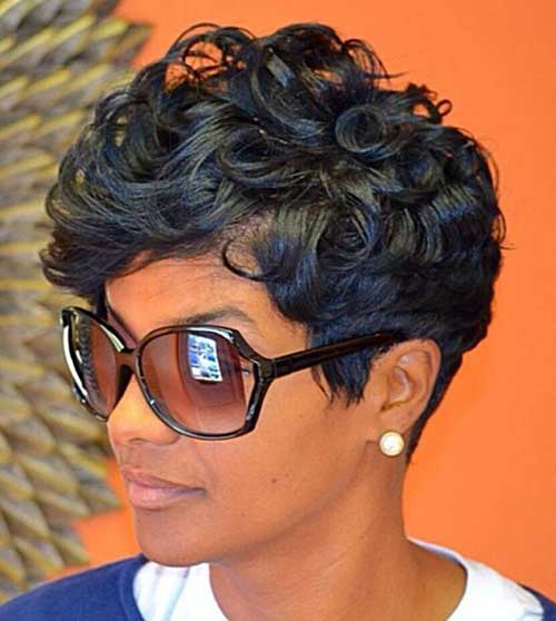 Black Pixie Style Haircuts