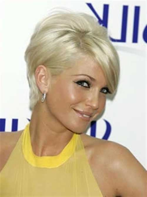 Blonde Pixie Hairstyles for Fine Hair Style