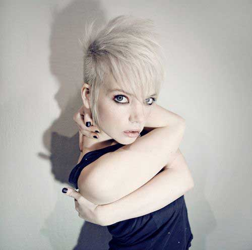 Blonde Punk Pixie Cuts Pics