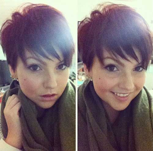 Brunette Pixie Cut for Girls