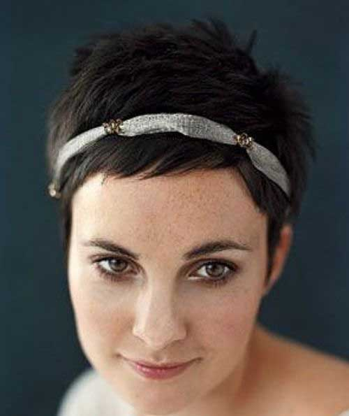 Brunettes Pixie Cuts Ideas