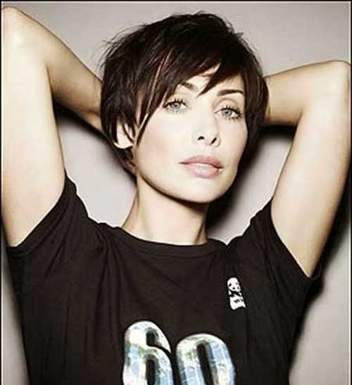 Celebrity Asymmetrical Pixie Haircuts