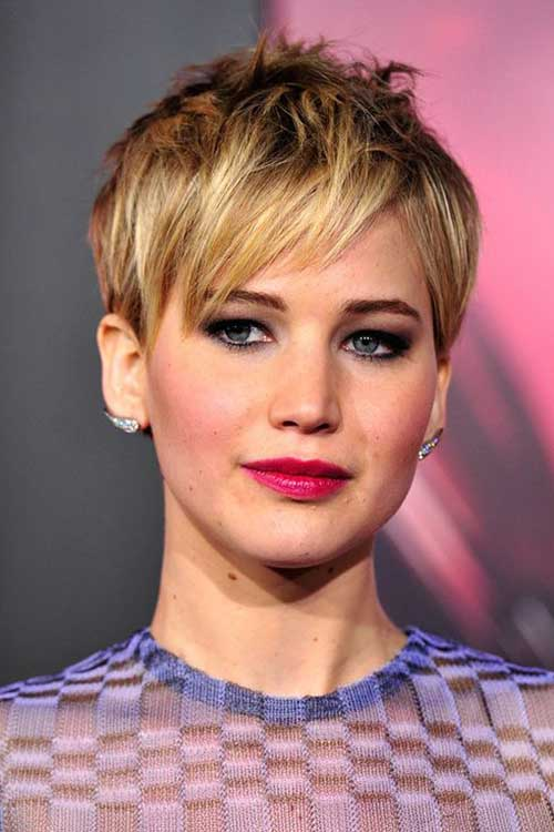 Celebrity Blonde Pixie Cuts