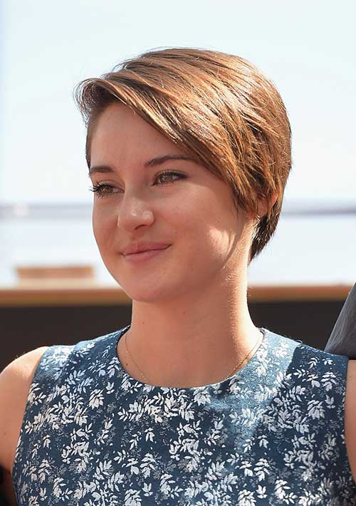 Celebrity with Nice Pixie Haircut