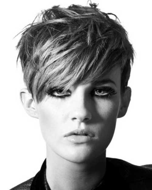 Cool Long Messy Pixie Cuts