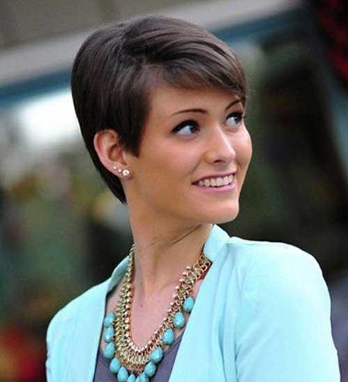 Cool Straight Hair Pixie Cuts