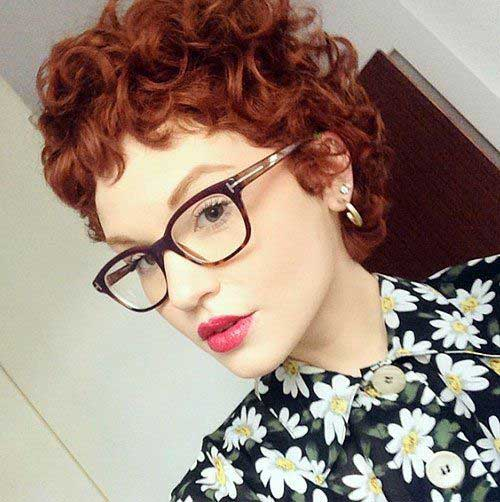 Curly Pixie Cut for Girls