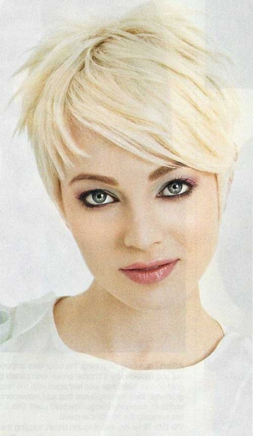 Cute Short Blonde Pixie Cuts