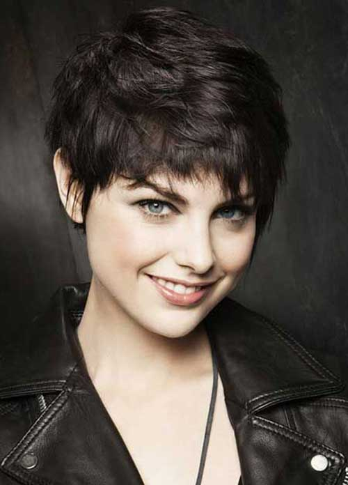 Best Dark Brown Pixie Cut