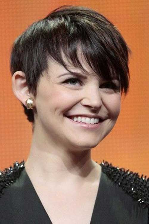 Dark Pixie Hairstyles 2015